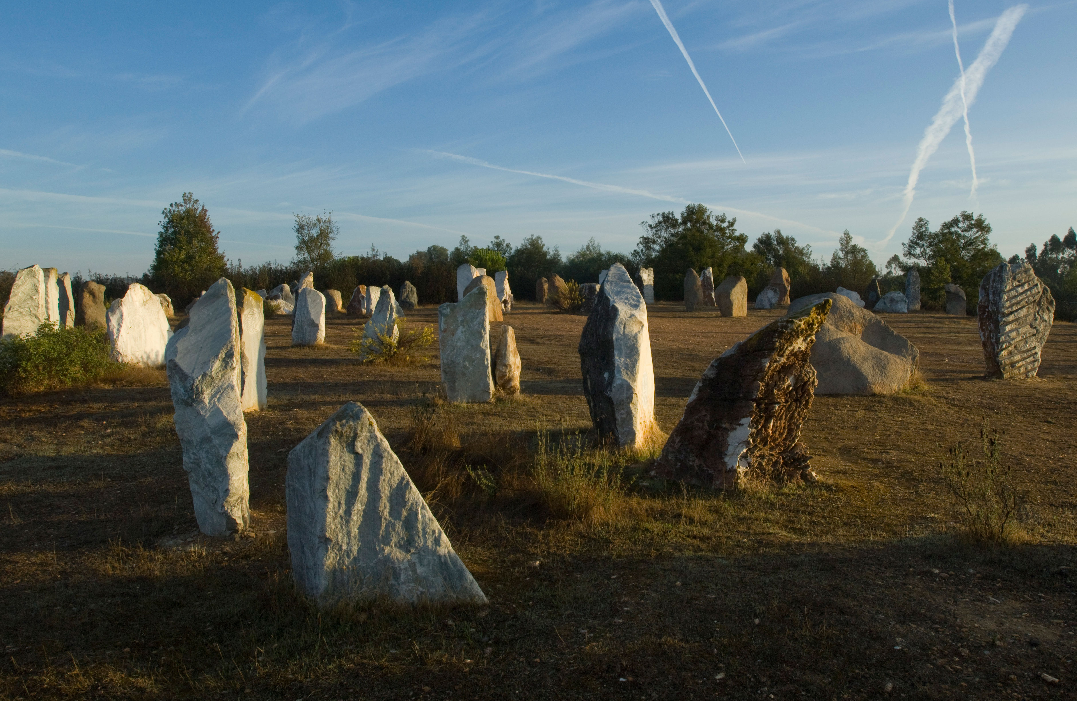 View of the Stone Circle
