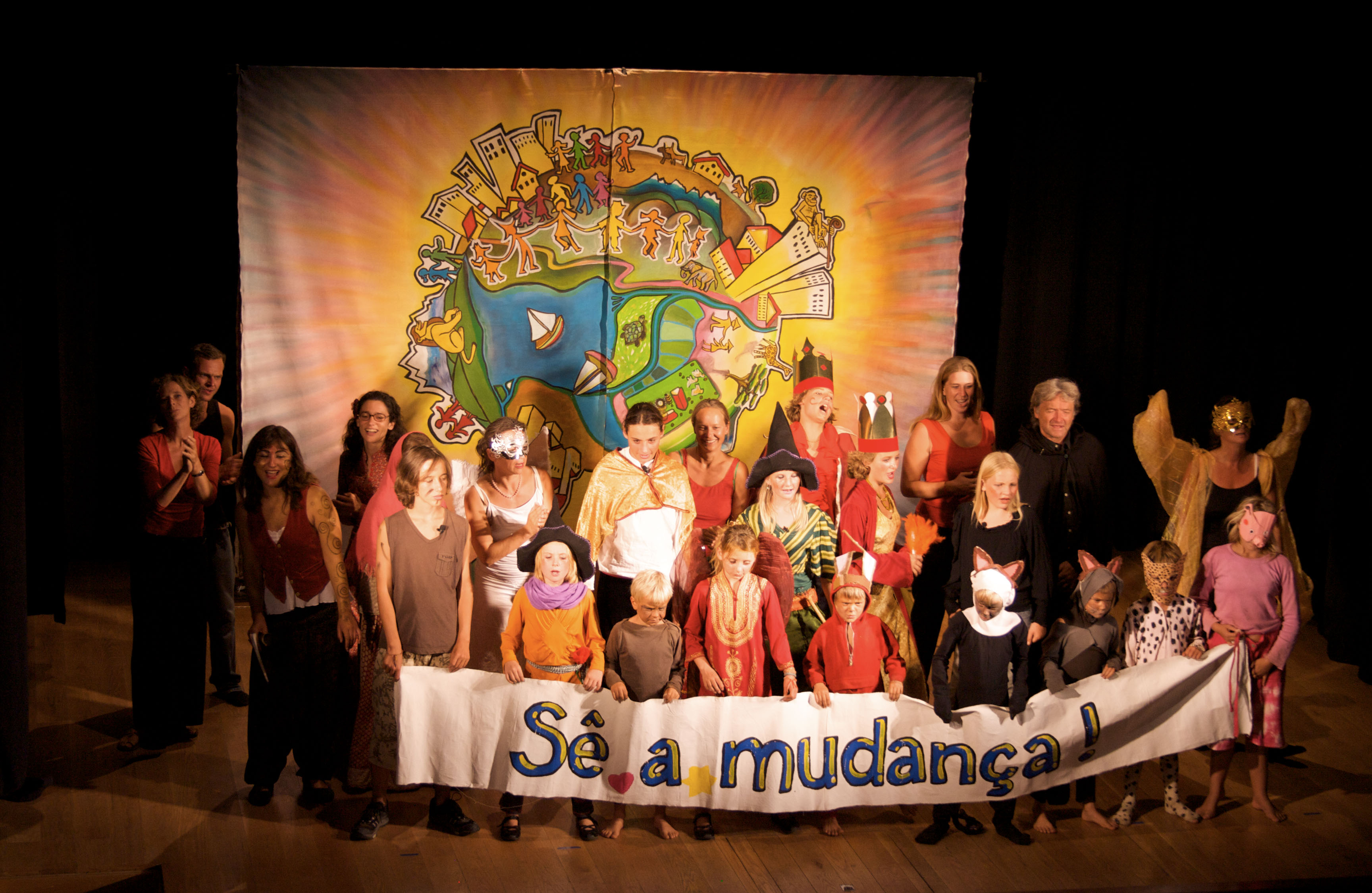 "Theater: ""Be the Change"" on Portugal Pilgrimage"