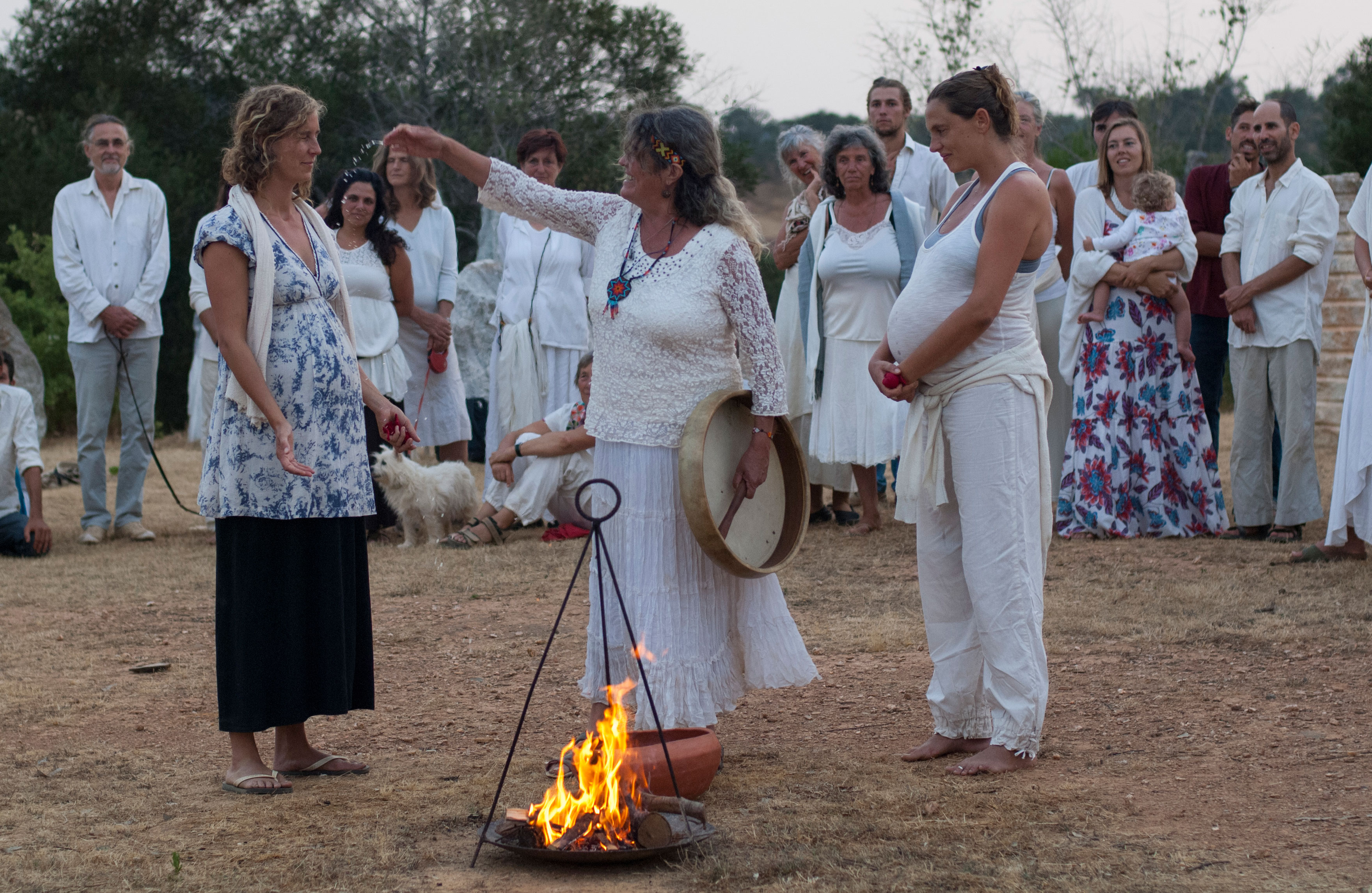 Community Ritual: Blessing the Pregnant Women