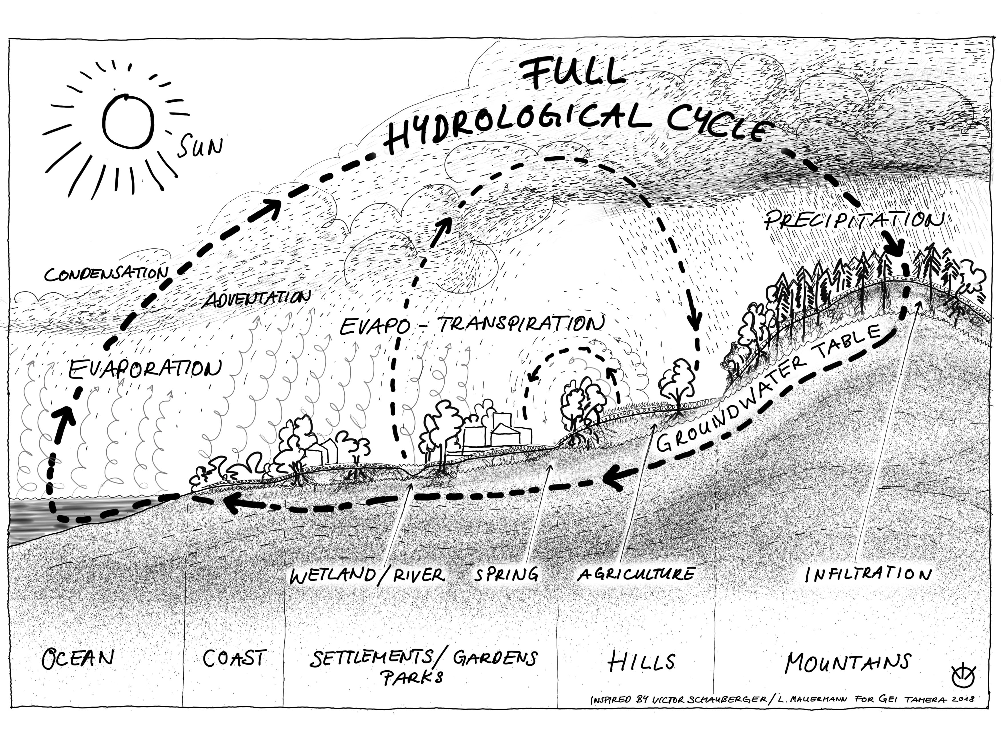 Full Hydrological Cycle